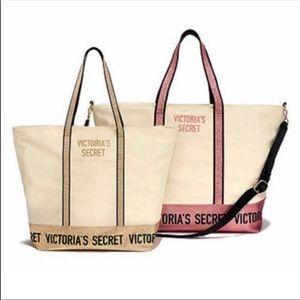NWT Victoria's Secret tote & weekender set